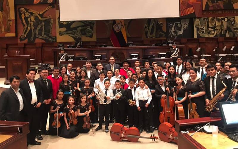 Orquesta Sinfónica Infanto Juvenil de Guaranda